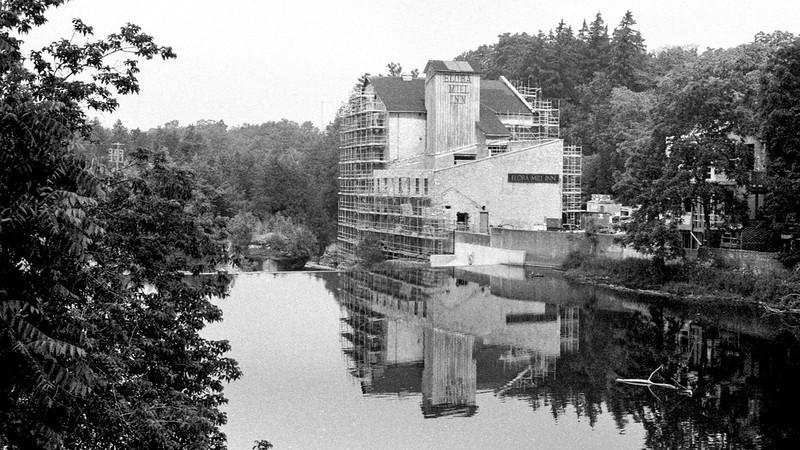 Shrouded Elora Mill_