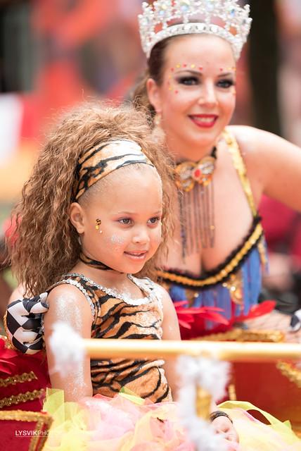 Straatparade zomercarnaval Rotterdam 2017