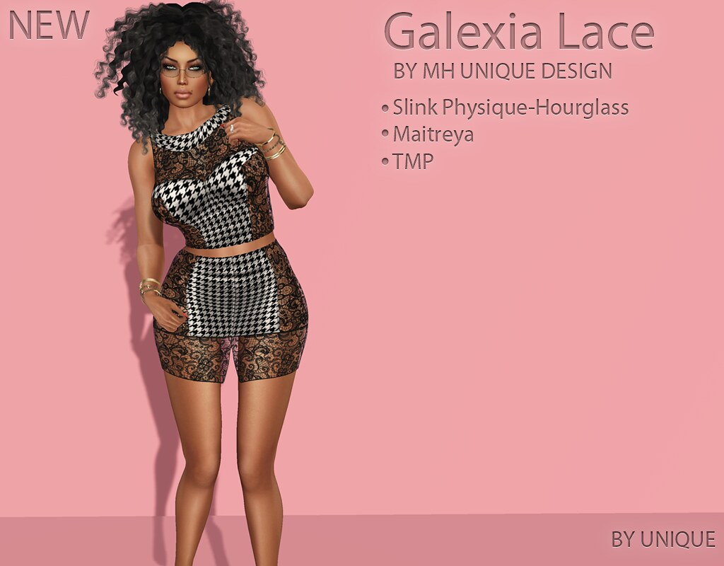 MH-Galexia Lace Dress - SecondLifeHub.com
