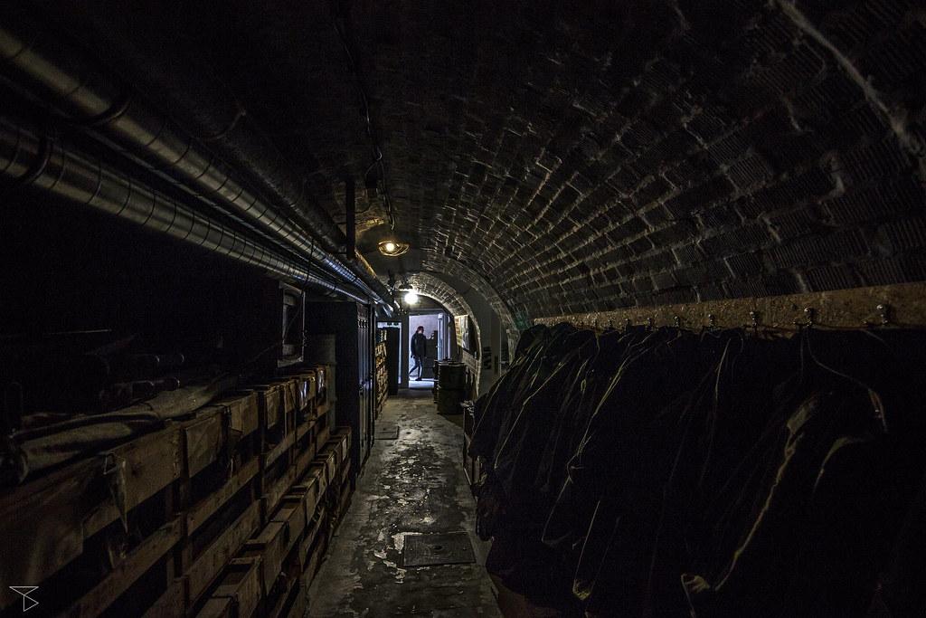 Tunnel near reception