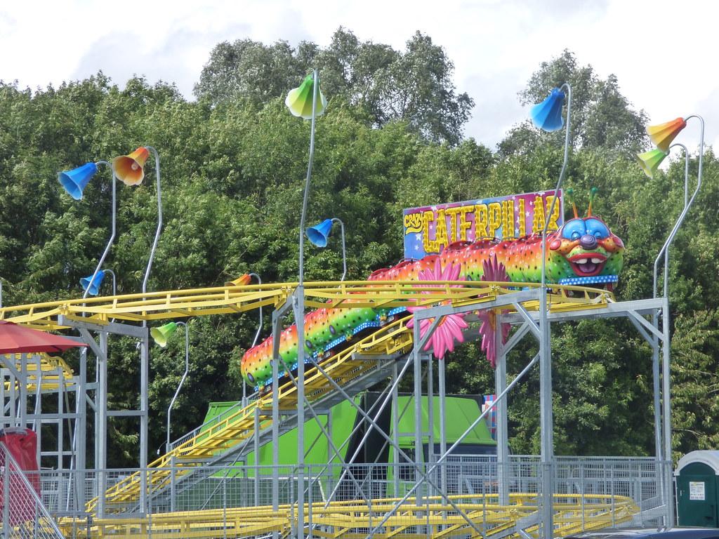 Sandwell Valley Country Park Fun Fair Crazy Caterpilla