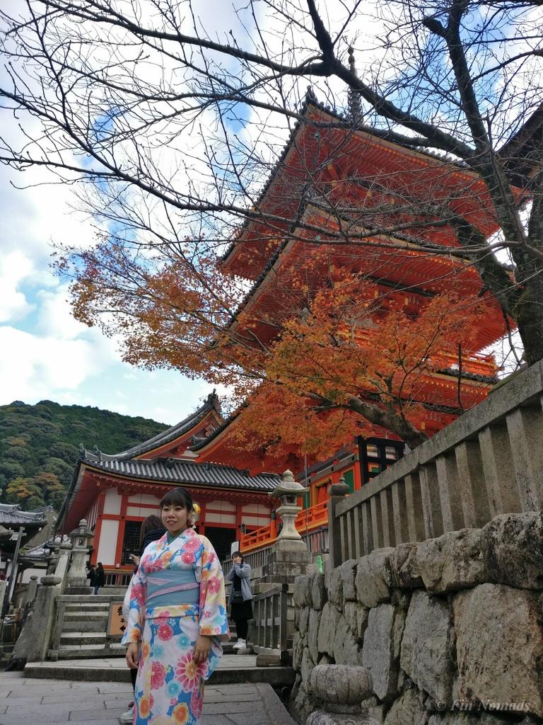 Kyoto temple geisha