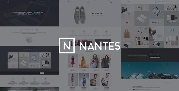 Nantes v1.54 – Creative Ecommerce & Corporate Theme