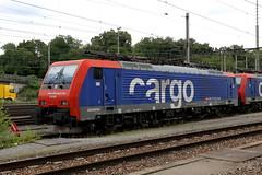 SBB Cargo Re 474 005-6 Muttenz Rbf