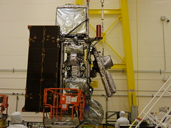 GOES-S Antenna Wing Assembly Deployment