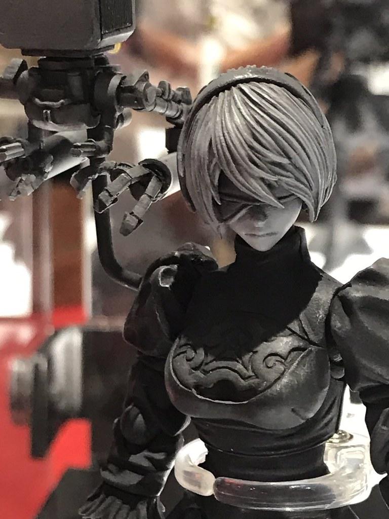 BRING ARTS《尼爾:自動人形》「2B&機械生命體」 6吋可動人偶 未上色原型公開!