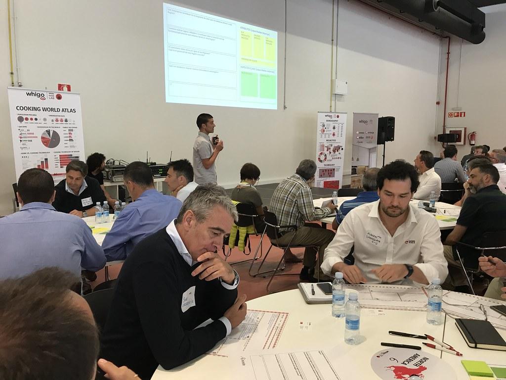 Whigo LAB, el taller estratégico sobre la Cocción en el mundo