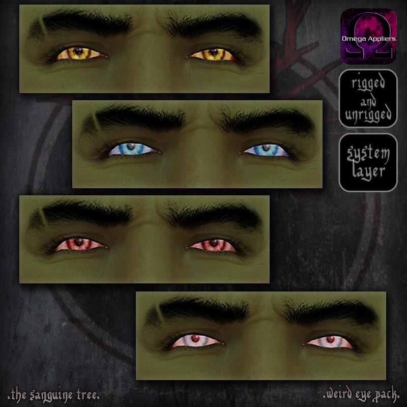 [ new release – weird eye pack ] - SecondLifeHub.com