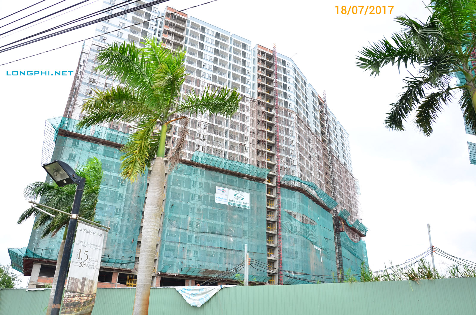 Jamona Apartment - Tháp Nam - Mặt trong.