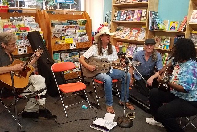 'That St. Louis Thing' reading and performance at Left Bank Books, July 19, 2017