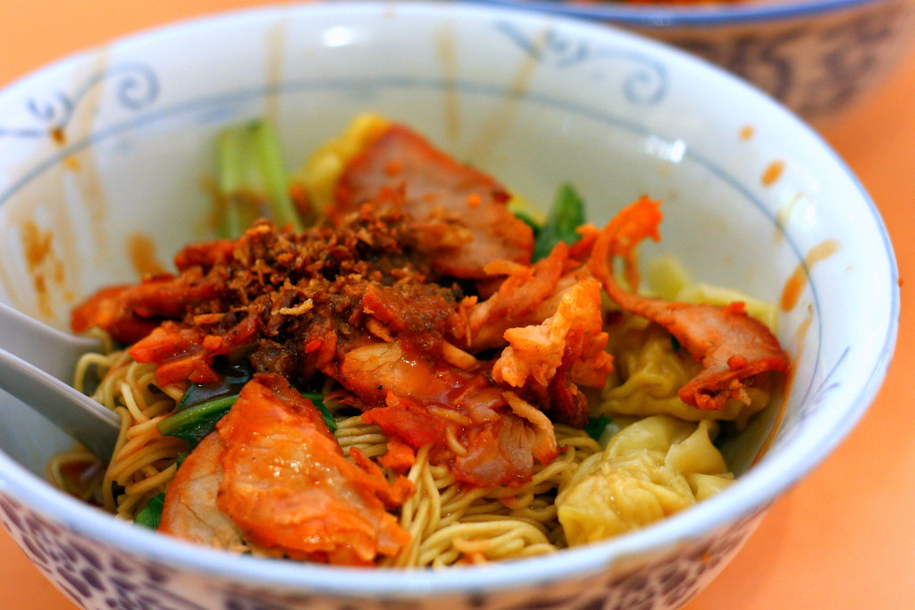 Old Airport Road Food Centre: Hua Kee Hougang Famous Wanton Mee