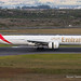 Emirates, A6-END, Cape Town International Airport, 16 July 2017