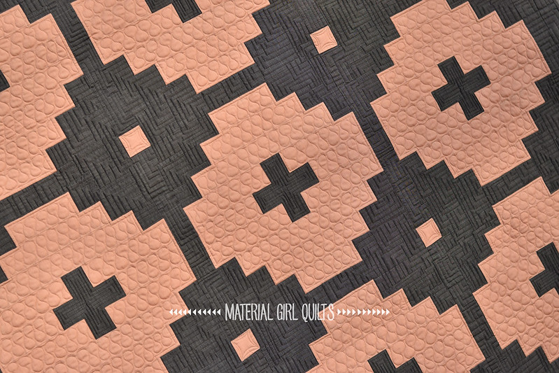 Beluga quilt by Amanda Castor of Material Girl Quilts published in Love Patchwork & Quilting Issue 50