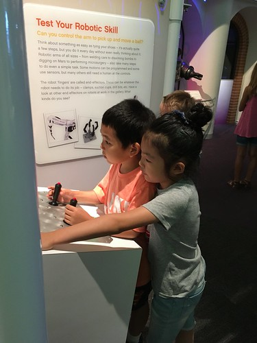 Friends visiting Carnegie Science Center