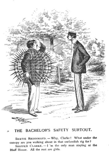 bachelor's safety surtout, the (1891)