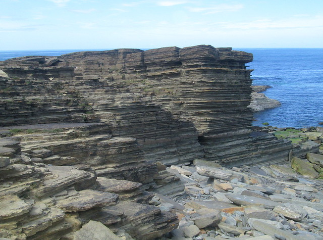 Rock Formation, Bay of Skaill, Orkney
