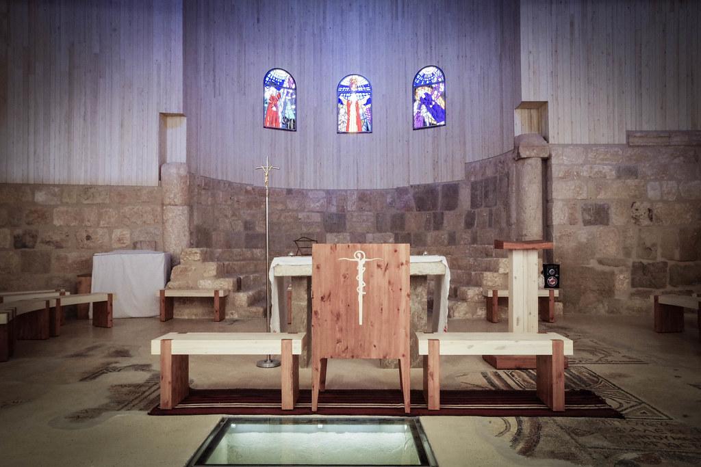ネボ山教会祭壇