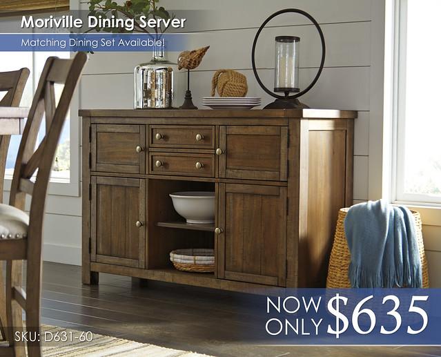 Moriville Dining Server D631-60