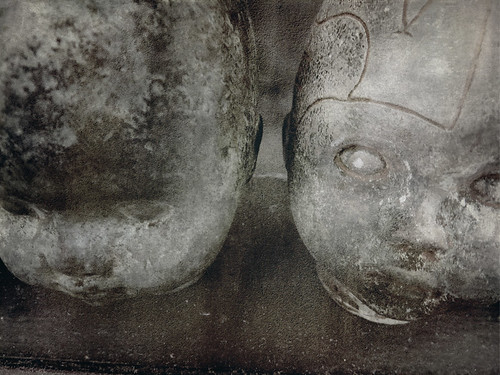 Creepy Baby Doll Heads in a Portland, Oregon store