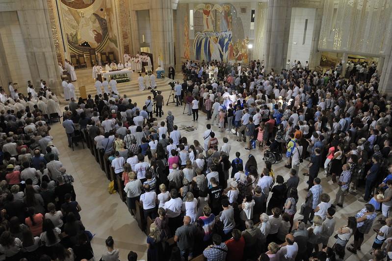 Rocznica ŚDM | Msza święta w Sanktuarium Św. Jana Pawła II, 30 VII 2017 r.