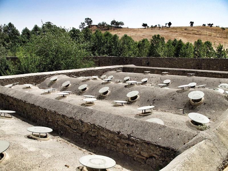 baños árabes ronda_rehabilitación_cubiertaarquitecto Ciro de la Torre