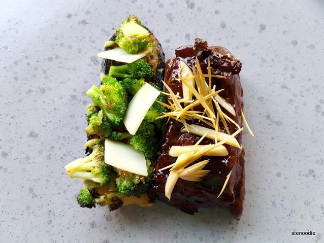 """""""beef short rib, broccoli, zucchini"""""""