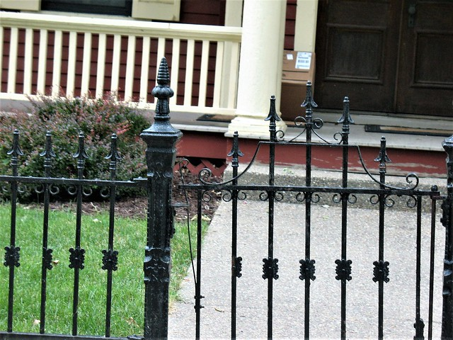 Iron Fence In Galena, Canon POWERSHOT A630
