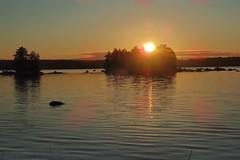 Finnish lake landscape - Lake Kukkia