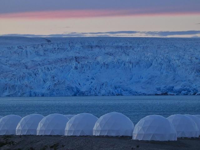 Campamento glaciar