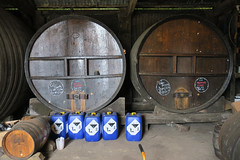 Barrels in the cider