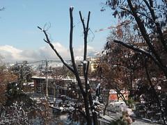 Nieve/Snow, Vitacura, Santiago 2017, Chile - www.meEncantaViajar.com