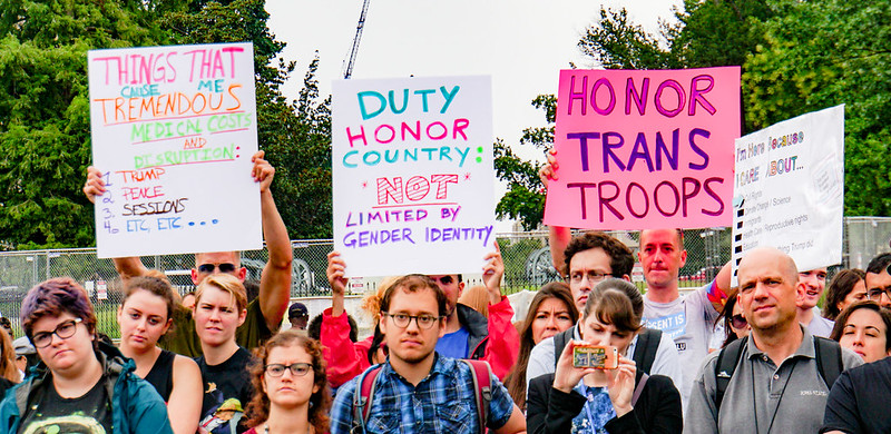 2017.07.29 Stop Transgender Military Ban, Washington, DC USA 7731