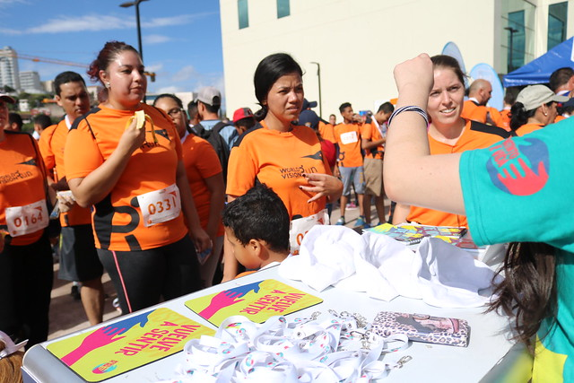 Instinto de Vida presente en World Vision Run 2017