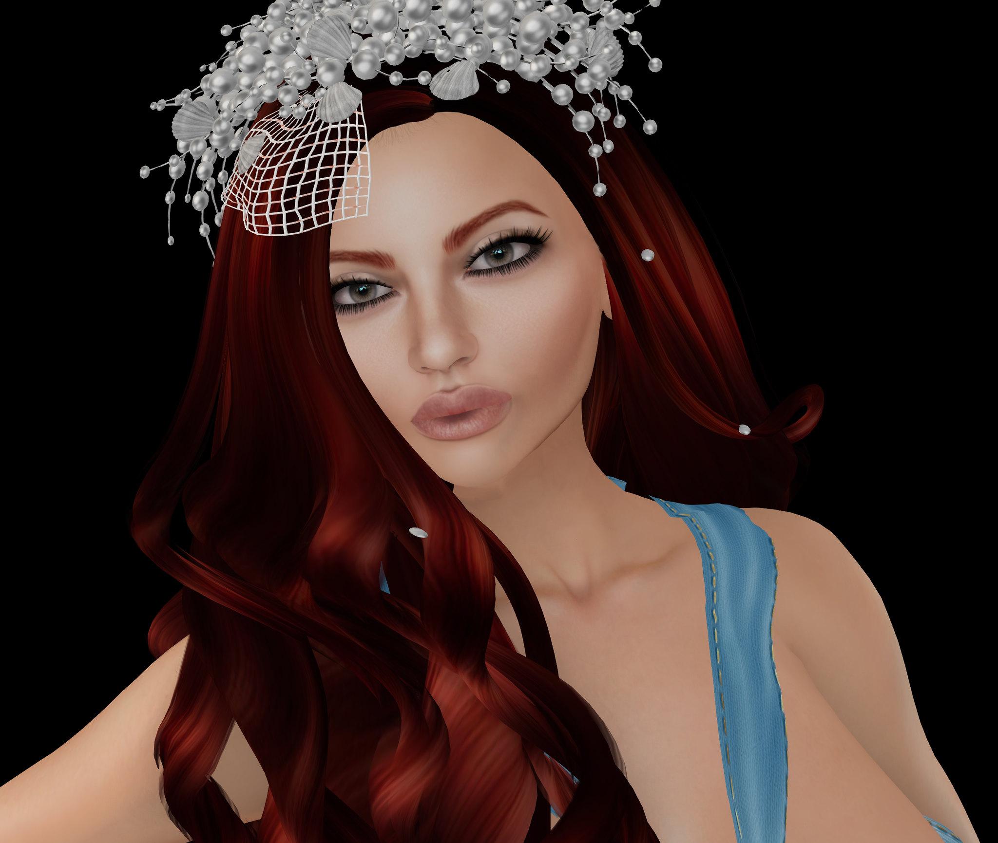 EMO-tions hair, Oceane's Rosieskin