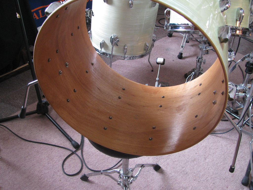 Drouyn bass drum interior