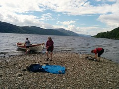 Lunch break between Invermoriston and Drumnadrochit.