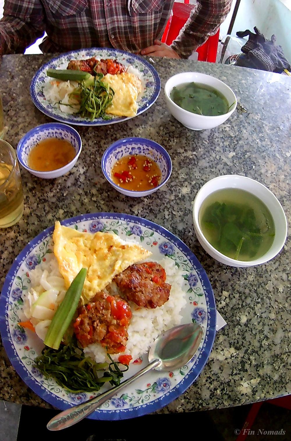 Vietnamese rice eatery