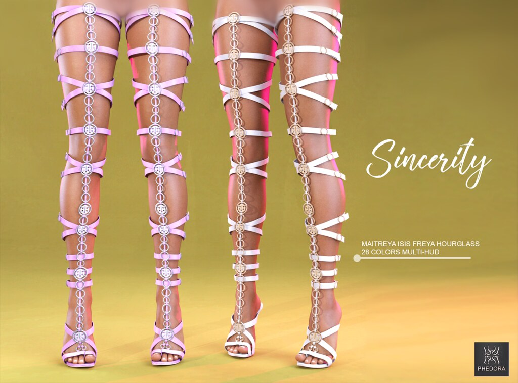 Phedora for Kustom9- Sincerity Heels ♥