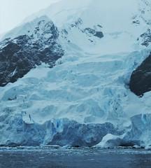 A very short glacier. Antarctic Peninsula Coastline, Feb. 2016.
