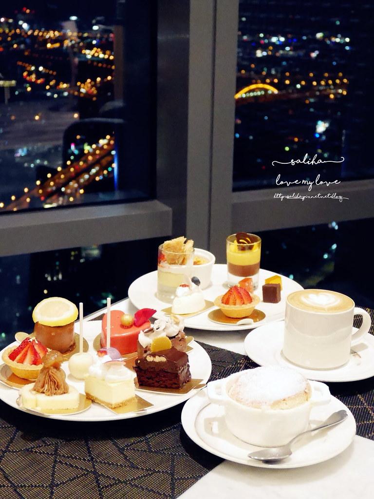 台北信義區氣氛好餐廳推薦饗饗INPARADISE海鮮百匯buffet自助餐甜點蛋糕吃到飽