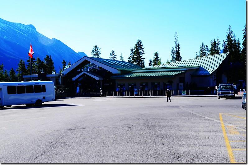 Banff Gondola Lower terminal 1