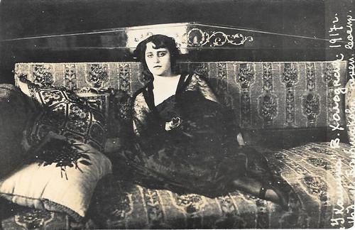 Vera Kholodnaya, 1917