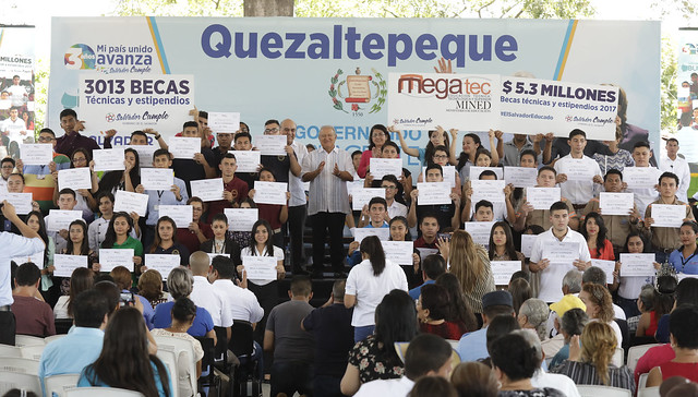 Festival para el Buen Vivir y Gobernando con la Gente, Quezaltepeque.