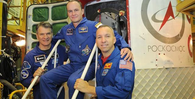 Last Soyuz fit check before launch