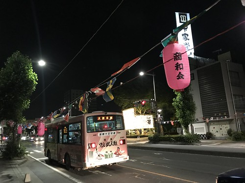 うちわ祭前日の17号国道【うちわ祭2017】