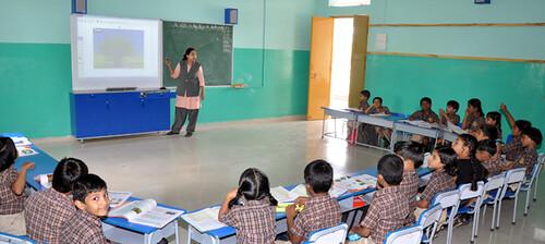 Digital Class-Rooms - Queens School