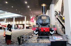 Nineteenth Century steam locomotive at the Kyoto Railway Museum 8534