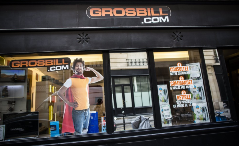 8e421b3d477831 Grosbill change de mains pour renaître de ses cendres