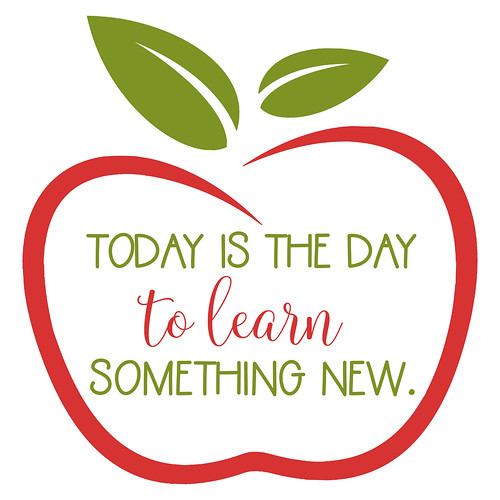 Today is the Day to Learn Something New