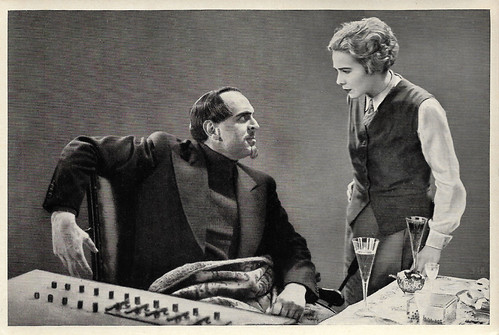 Rudolf Klein-Rogge and Gerda Maurus in Spione (1928)